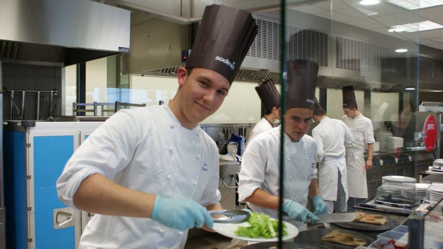 Tp d plac chez sodexo h tellerie restauration - Cfa versailles cuisine ...