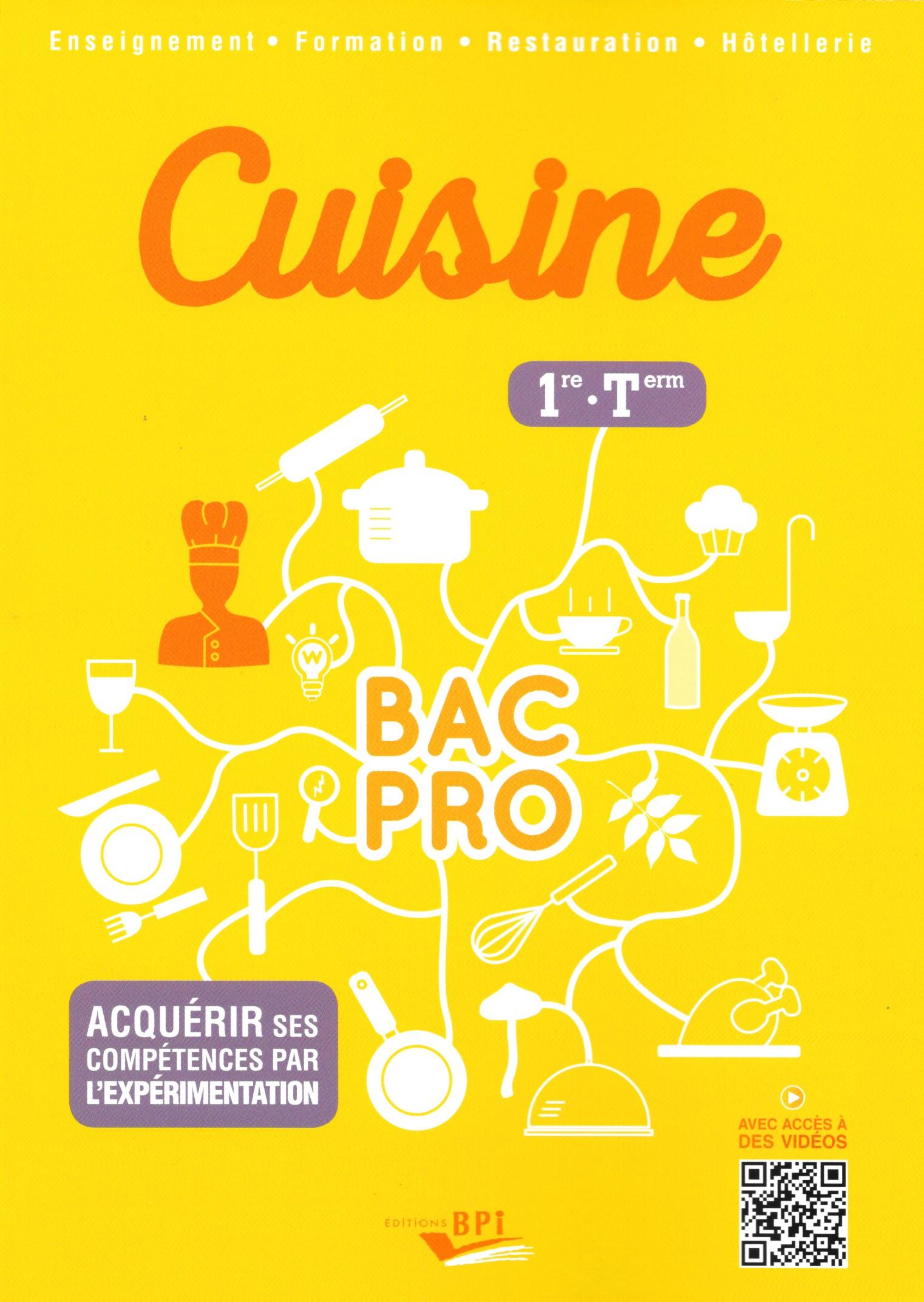 Seconde bac pro cuisine cuisine bac pro 1 re terminale for Technologie cuisine bac pro