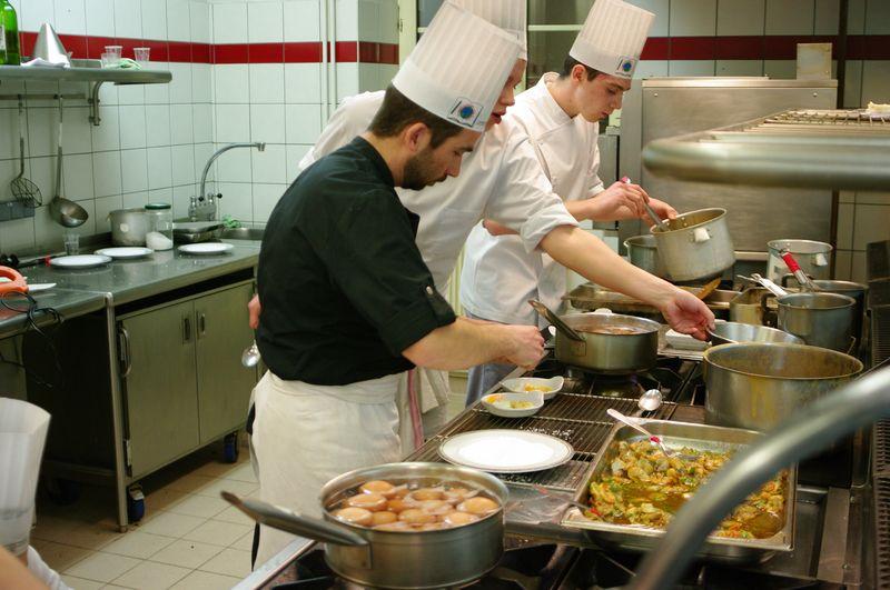 Projet cuisine et service aujourd 39 hui h tellerie for Cuisine et restauration