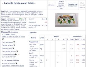logiciel fiche technique cuisine | ohhkitchen